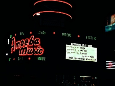 """Odesza plays a small, intimate show at Amoeba Music on Monday, September 22. The electronic duo released their newest album, """"In Return."""""""